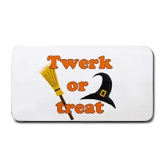 Twerk Or Treat   Funny Halloween Design Medium Bar Mats