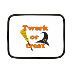 Twerk Or Treat   Funny Halloween Design Netbook Case (small)