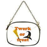Twerk or treat - Funny Halloween design Chain Purses (One Side)