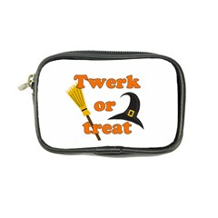 Twerk Or Treat   Funny Halloween Design Coin Purse by Valentinaart