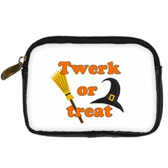Twerk Or Treat   Funny Halloween Design Digital Camera Cases by Valentinaart