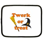 Twerk or treat - Funny Halloween design Netbook Case (XXL)
