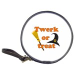 Twerk or treat - Funny Halloween design Classic 20-CD Wallets