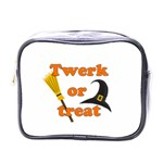 Twerk or treat - Funny Halloween design Mini Toiletries Bags
