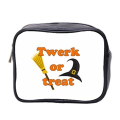 Twerk Or Treat   Funny Halloween Design Mini Toiletries Bag 2 Side by Valentinaart