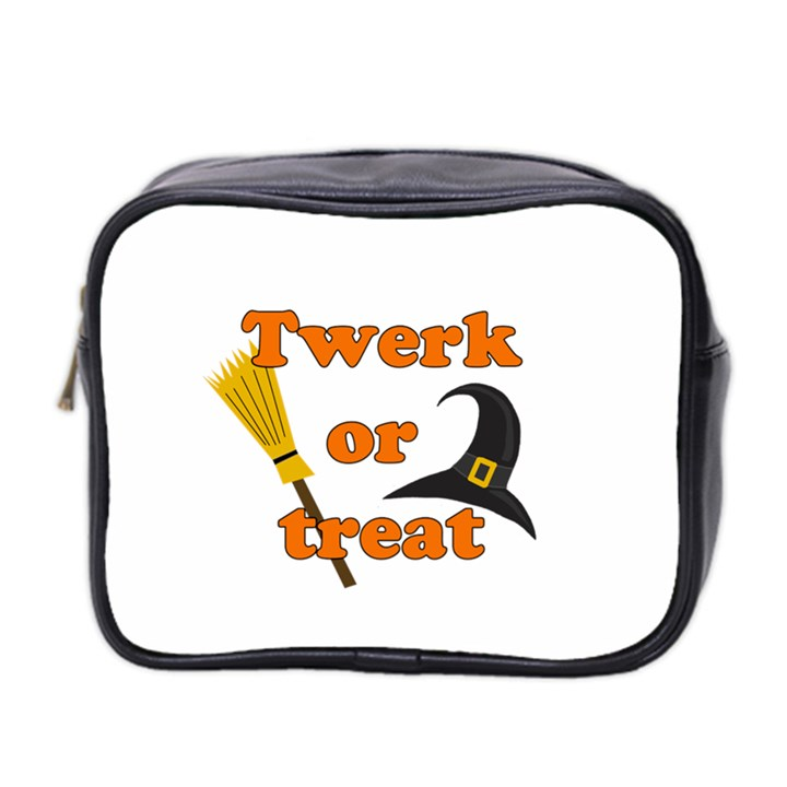 Twerk or treat - Funny Halloween design Mini Toiletries Bag 2-Side