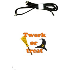 Twerk Or Treat   Funny Halloween Design Shoulder Sling Bags by Valentinaart