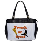 Twerk or treat - Funny Halloween design Office Handbags