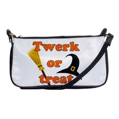 Twerk Or Treat   Funny Halloween Design Shoulder Clutch Bags