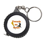 Twerk or treat - Funny Halloween design Measuring Tapes