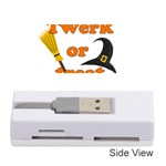 Twerk or treat - Funny Halloween design Memory Card Reader (Stick)