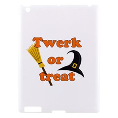 Twerk Or Treat   Funny Halloween Design Apple Ipad 3/4 Hardshell Case by Valentinaart