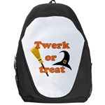 Twerk or treat - Funny Halloween design Backpack Bag