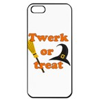 Twerk or treat - Funny Halloween design Apple iPhone 5 Seamless Case (Black)