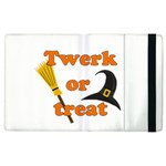 Twerk or treat - Funny Halloween design Apple iPad 2 Flip Case
