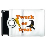 Twerk or treat - Funny Halloween design Apple iPad 3/4 Flip 360 Case