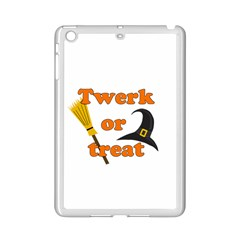 Twerk Or Treat   Funny Halloween Design Ipad Mini 2 Enamel Coated Cases by Valentinaart