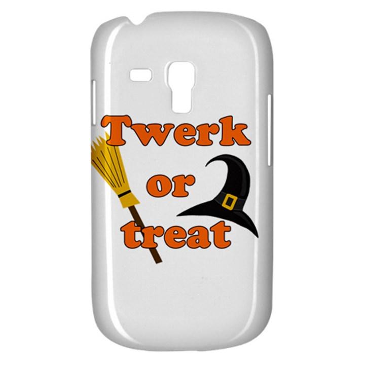 Twerk or treat - Funny Halloween design Samsung Galaxy S3 MINI I8190 Hardshell Case