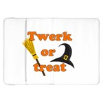Twerk or treat - Funny Halloween design Samsung Galaxy Tab 8.9  P7300 Flip Case