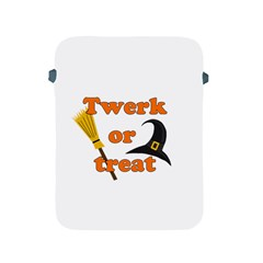 Twerk Or Treat   Funny Halloween Design Apple Ipad 2/3/4 Protective Soft Cases by Valentinaart