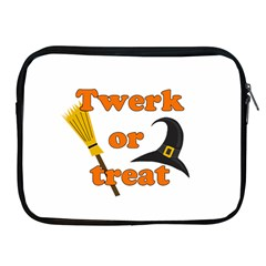 Twerk Or Treat   Funny Halloween Design Apple Ipad 2/3/4 Zipper Cases by Valentinaart