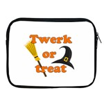 Twerk or treat - Funny Halloween design Apple iPad 2/3/4 Zipper Cases