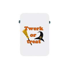 Twerk Or Treat   Funny Halloween Design Apple Ipad Mini Protective Soft Cases by Valentinaart