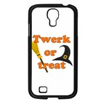 Twerk or treat - Funny Halloween design Samsung Galaxy S4 I9500/ I9505 Case (Black)