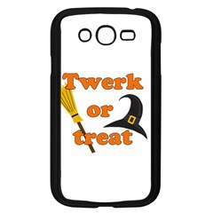 Twerk Or Treat   Funny Halloween Design Samsung Galaxy Grand Duos I9082 Case (black) by Valentinaart