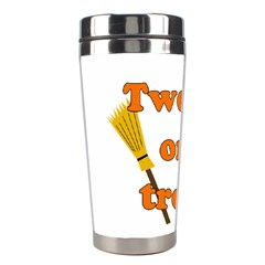 Twerk Or Treat   Funny Halloween Design Stainless Steel Travel Tumblers by Valentinaart