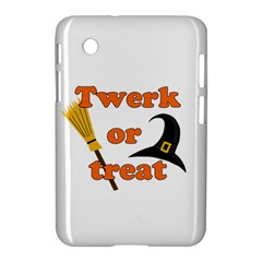 Twerk Or Treat   Funny Halloween Design Samsung Galaxy Tab 2 (7 ) P3100 Hardshell Case  by Valentinaart
