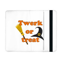 Twerk Or Treat   Funny Halloween Design Samsung Galaxy Tab Pro 8 4  Flip Case by Valentinaart