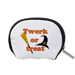 Twerk or treat - Funny Halloween design Accessory Pouches (Small)  Back