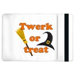 Twerk or treat - Funny Halloween design iPad Air Flip