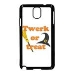 Twerk or treat - Funny Halloween design Samsung Galaxy Note 3 Neo Hardshell Case (Black)