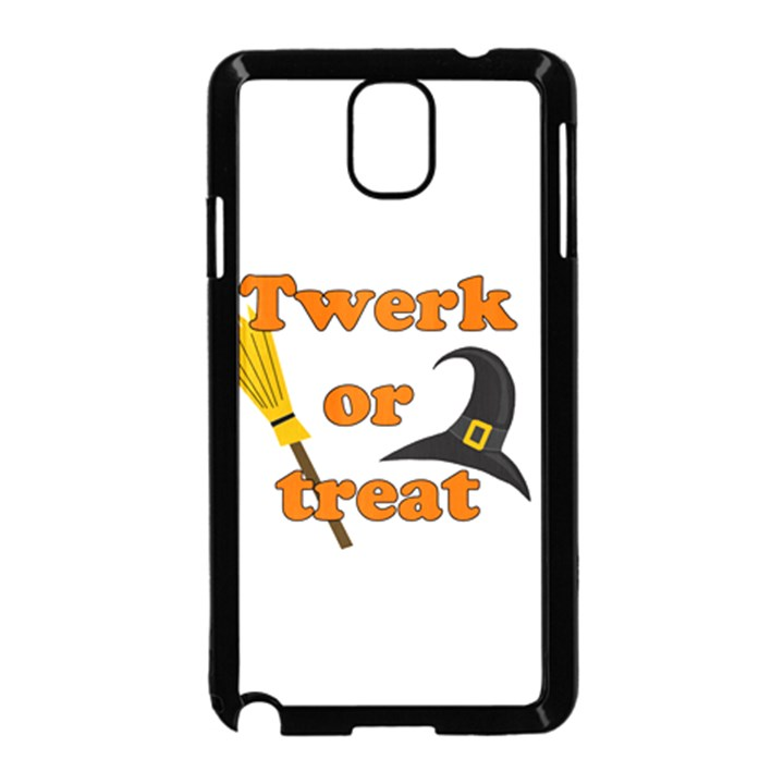 Twerk or treat - Funny Halloween design Samsung Galaxy Note 3 Neo Hardshell Case (Black)
