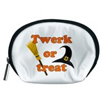 Twerk or treat - Funny Halloween design Accessory Pouches (Medium)