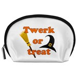 Twerk or treat - Funny Halloween design Accessory Pouches (Large)
