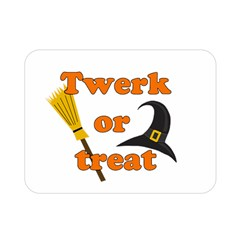 Twerk Or Treat   Funny Halloween Design Double Sided Flano Blanket (mini)