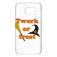 Twerk Or Treat   Funny Halloween Design Galaxy S6 by Valentinaart