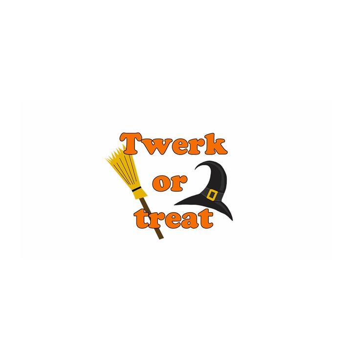 Twerk or treat - Funny Halloween design Satin Wrap