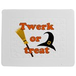 Twerk or treat - Funny Halloween design Jigsaw Puzzle Photo Stand (Rectangular)