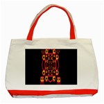 Alphabet Shirt Classic Tote Bag (Red) Front
