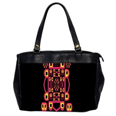 Alphabet Shirt Office Handbags (2 Sides)