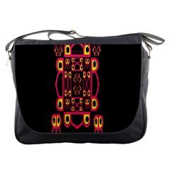 Alphabet Shirt Messenger Bags