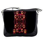 Alphabet Shirt Messenger Bags Front