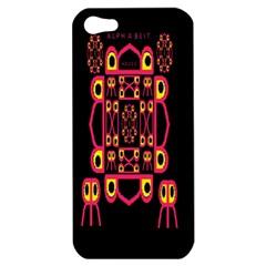 Alphabet Shirt Apple Iphone 5 Hardshell Case