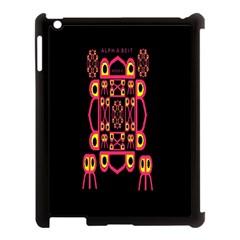 Alphabet Shirt Apple Ipad 3/4 Case (black)