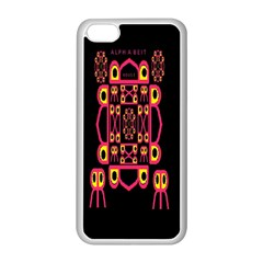 Alphabet Shirt Apple Iphone 5c Seamless Case (white)