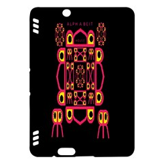 Alphabet Shirt Kindle Fire Hdx Hardshell Case by MRTACPANS